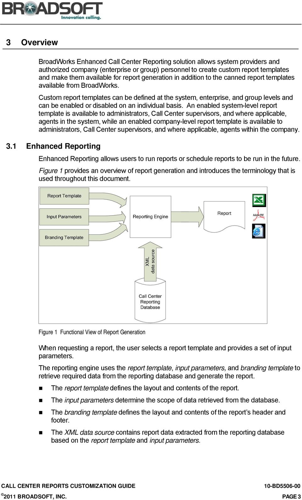 Custom Report Templates Can Be Defined At The System Enterprise And Group Levels