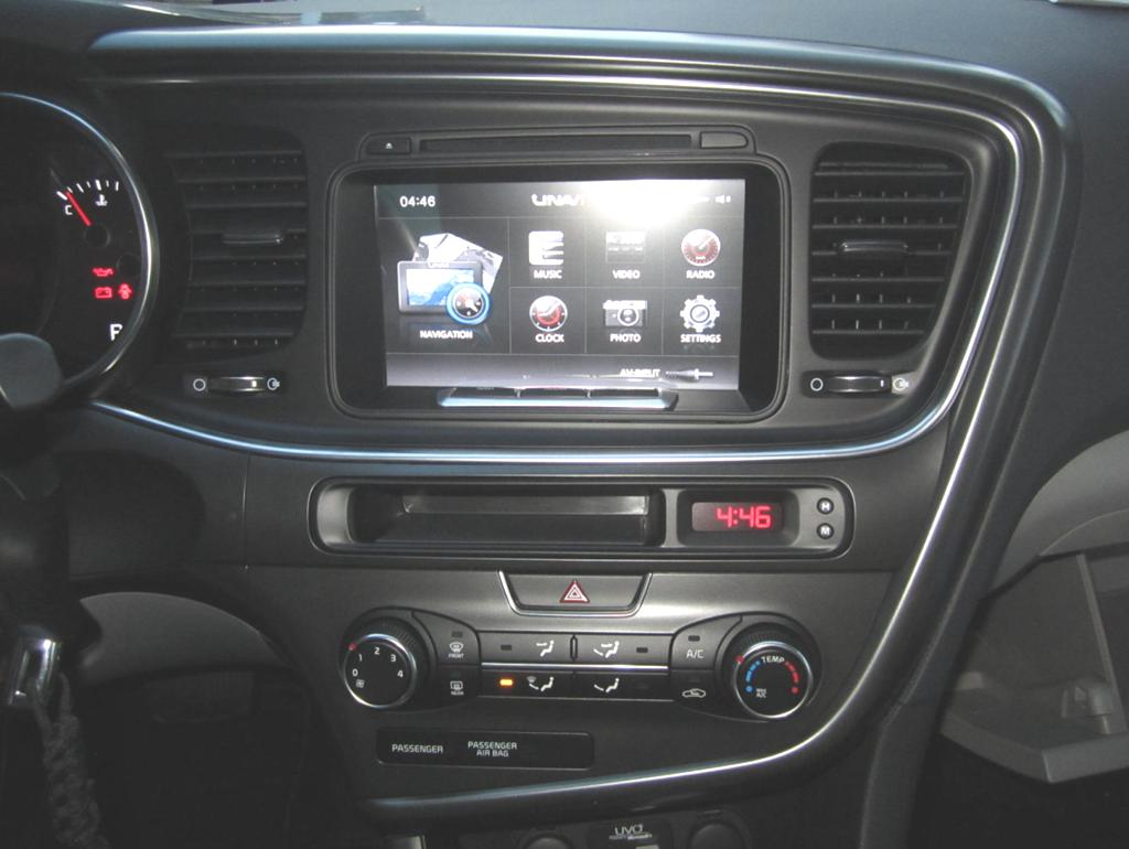 Unavi X5 For Kia Optima Installation Guide Pdf 2009 Navigation System Components And Wiring Harness 26 Assemble The Center Fascia Panel Climate Complete