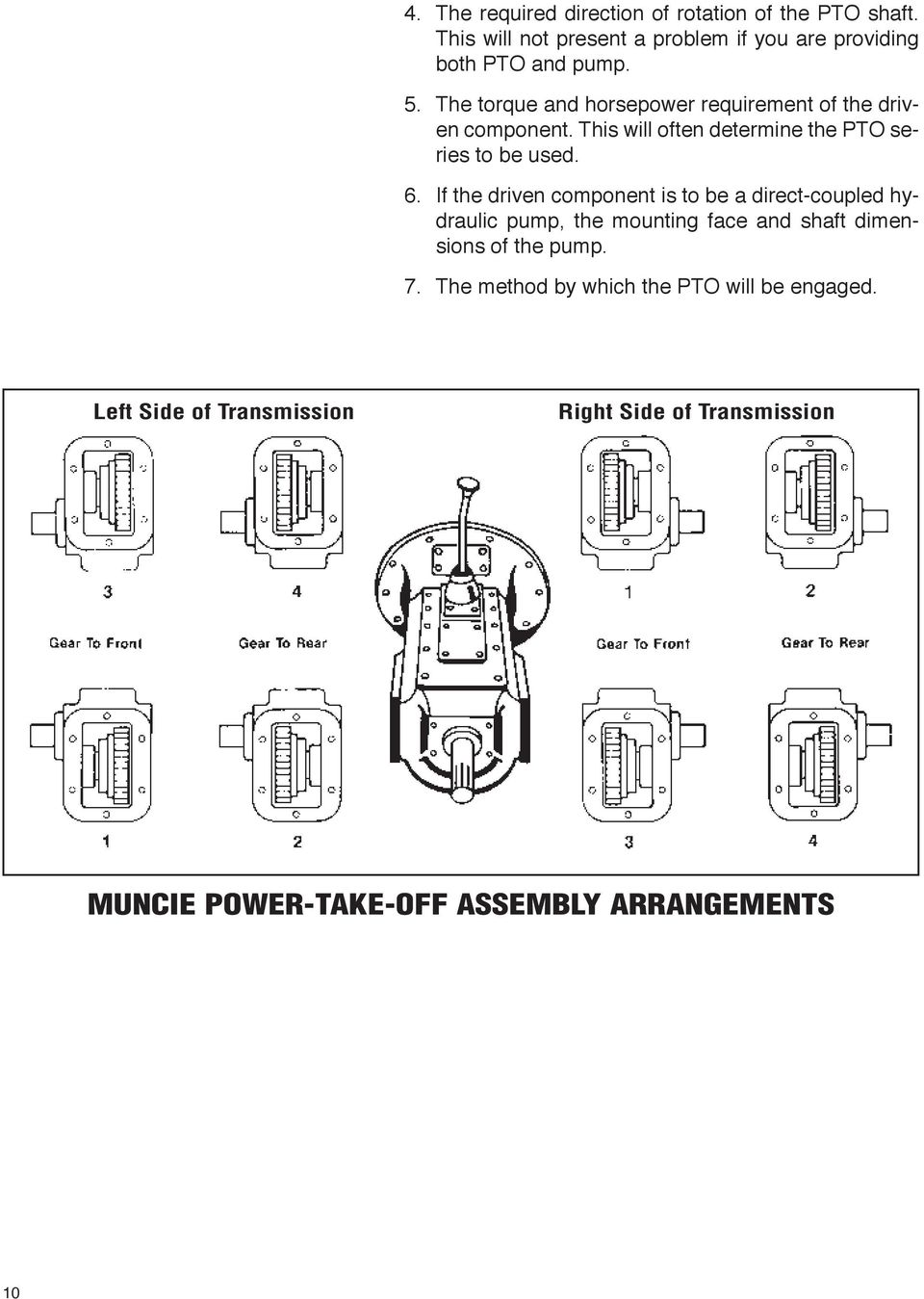 power take-off systems Muncie Power Products - PDF