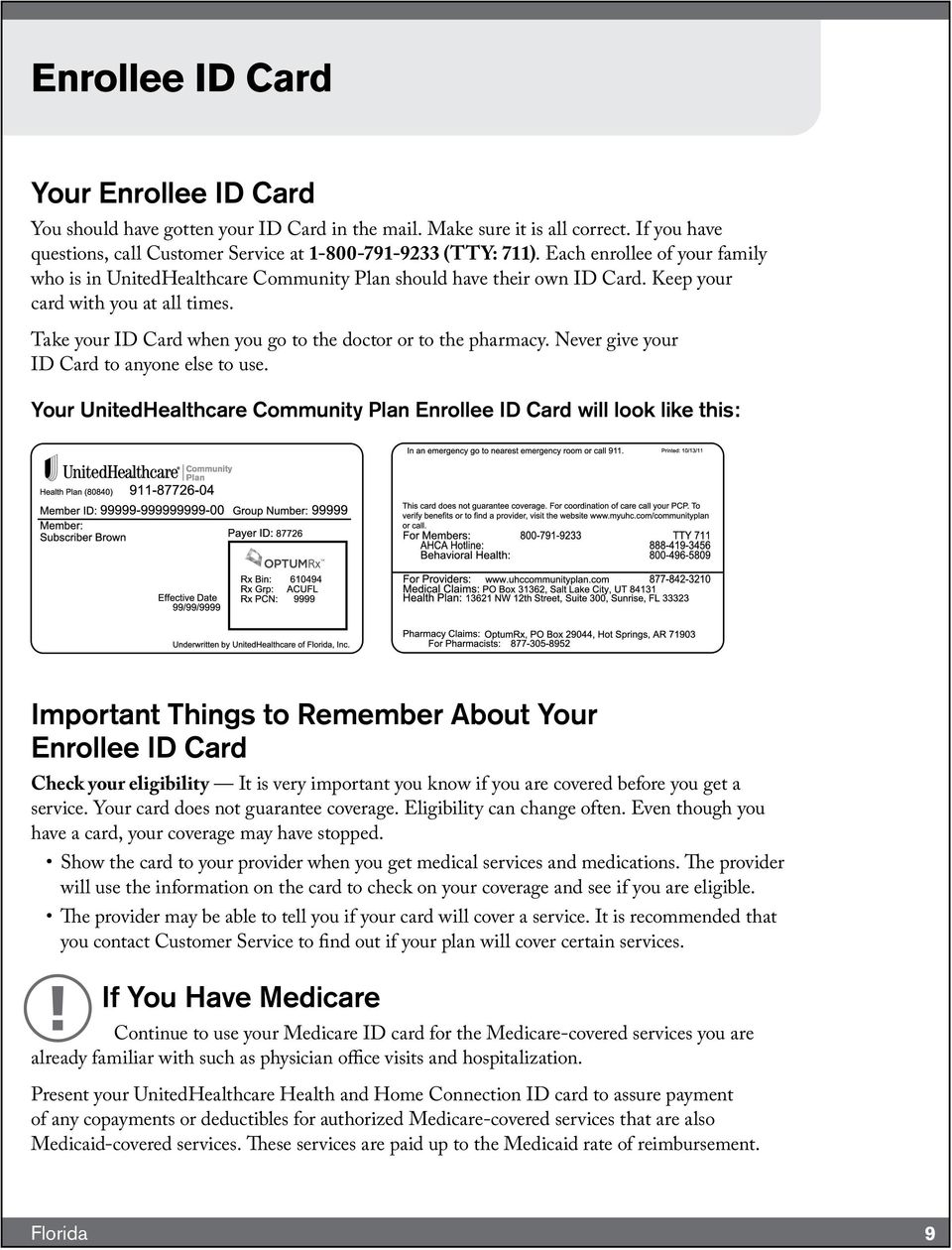 Unitedhealthcare Community Plan Health And Home Connection Enrollee