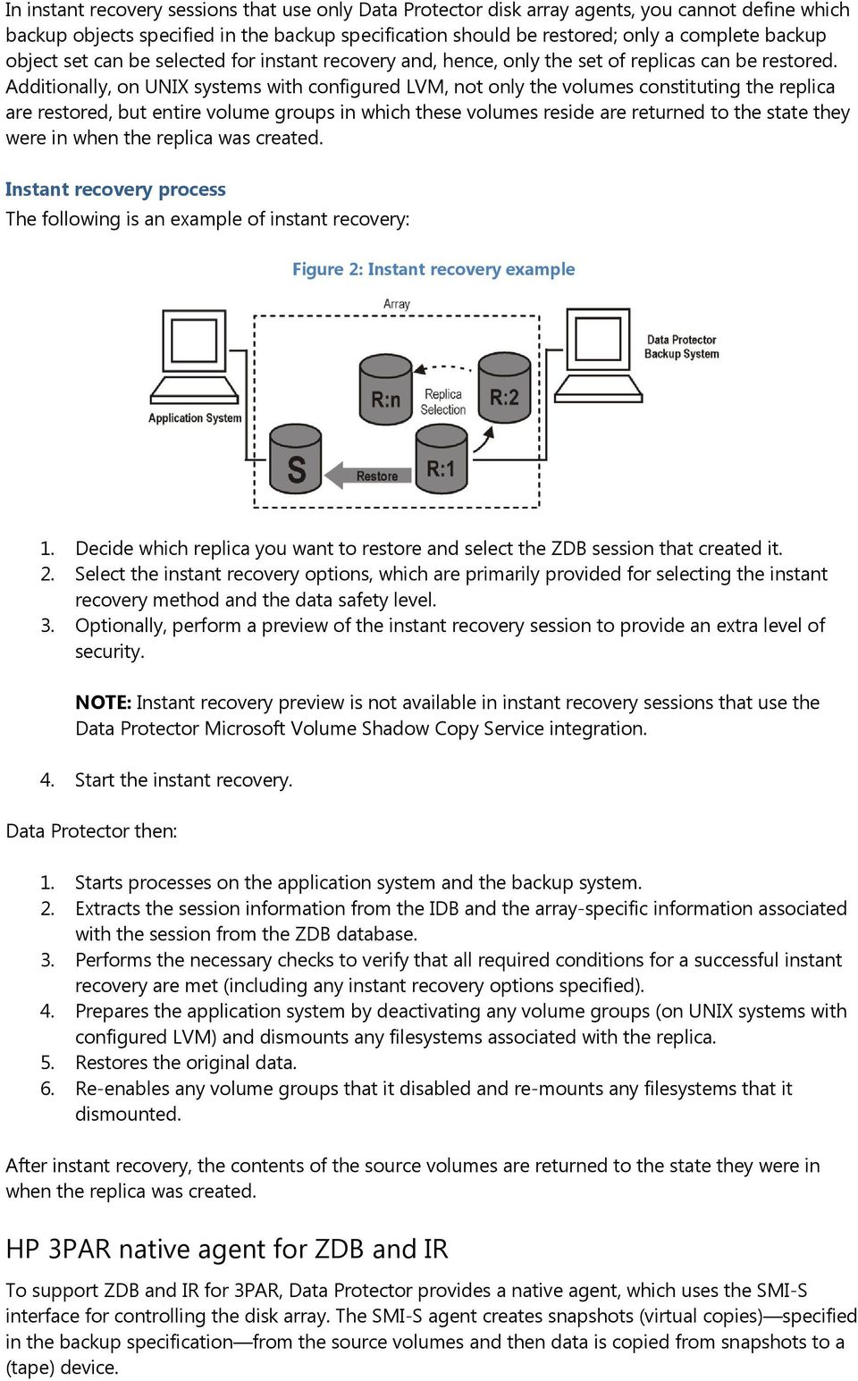 HP Data Protector 8 1 integration with HP 3PAR Storage System - PDF