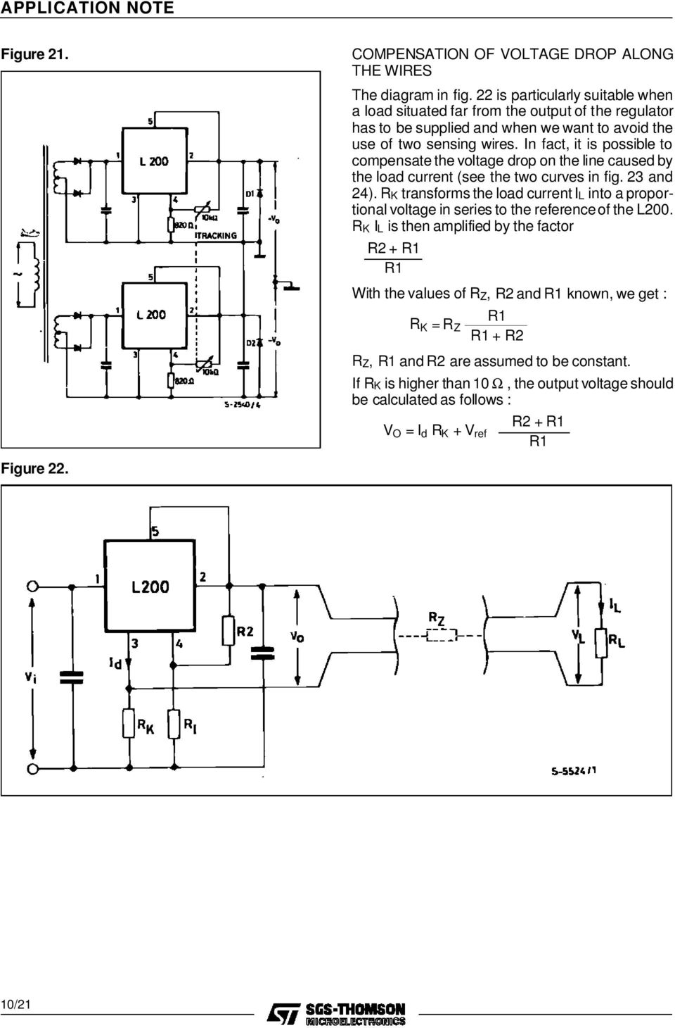 A Designer S Guide To The L200 Voltage Regulator Pdf Picture Of Versatile With Lm317 In Fact It Is Possible Compensate Drop On Line Caused By