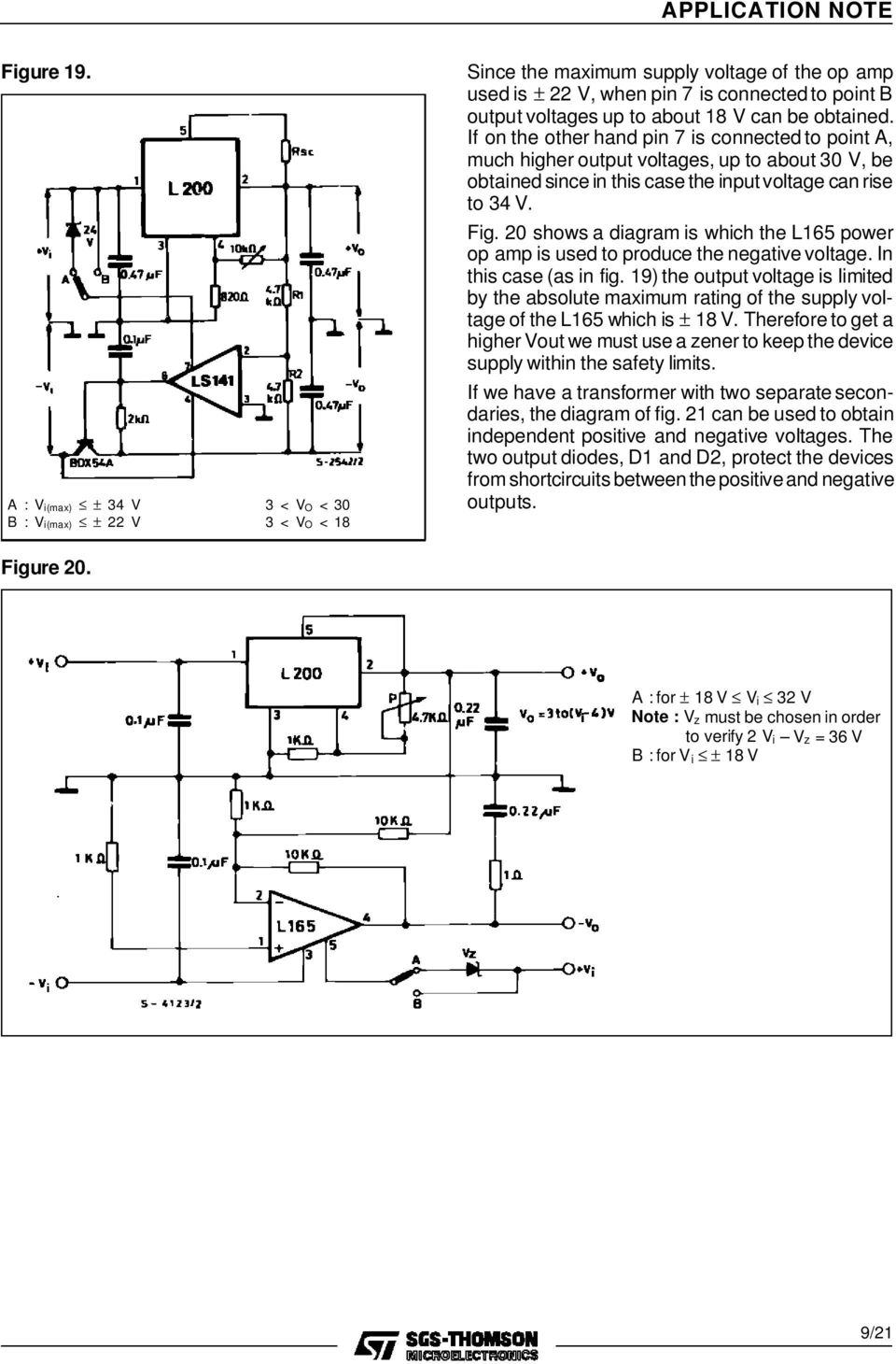 A Designer S Guide To The L200 Voltage Regulator Pdf Based Regulators Obtained If On Other Hand Pin 7 Is Connected Point Much