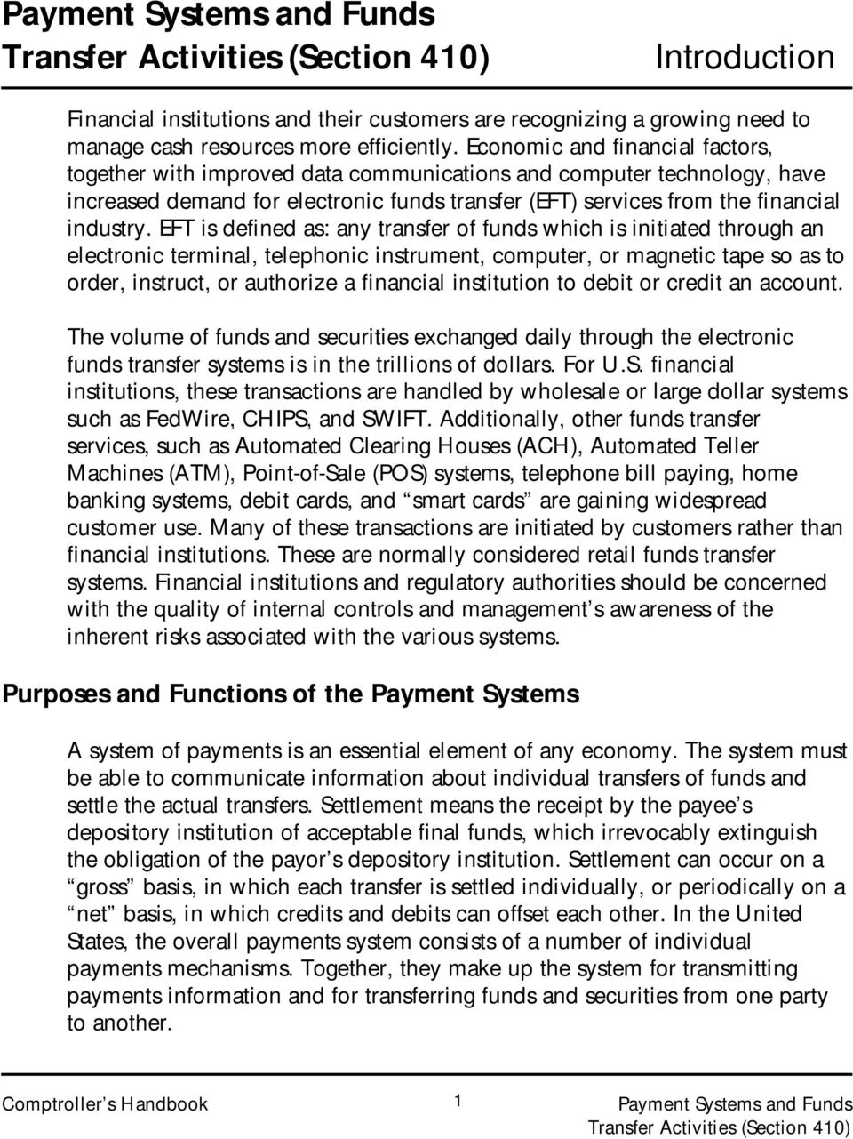 payment systems and funds transfer activities - pdf