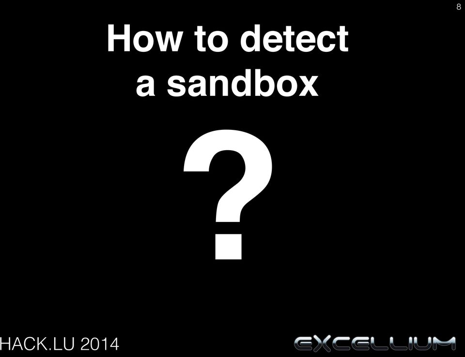 Bypassing Sanboxes for fun!! - PDF