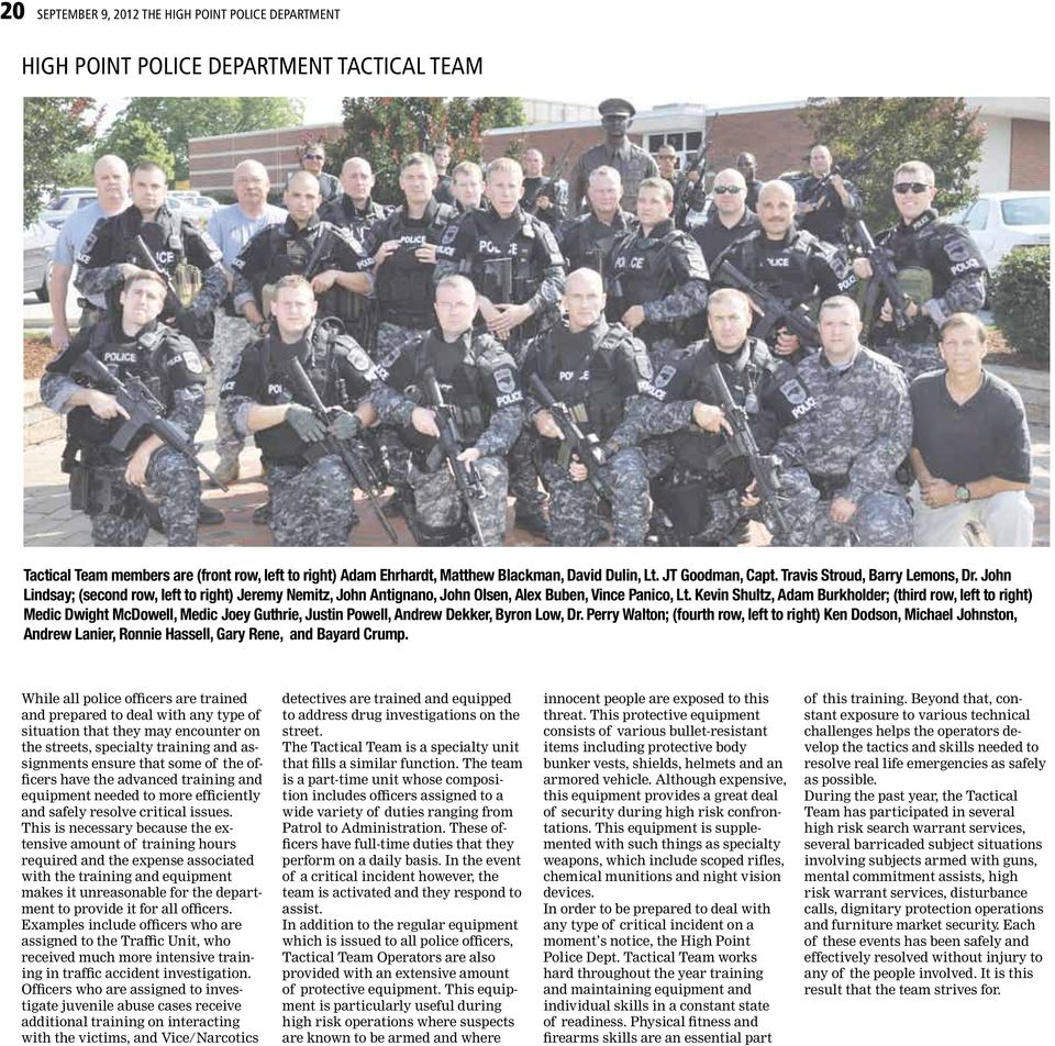 HIGH POINT POLICE DEPARTMENT - PDF