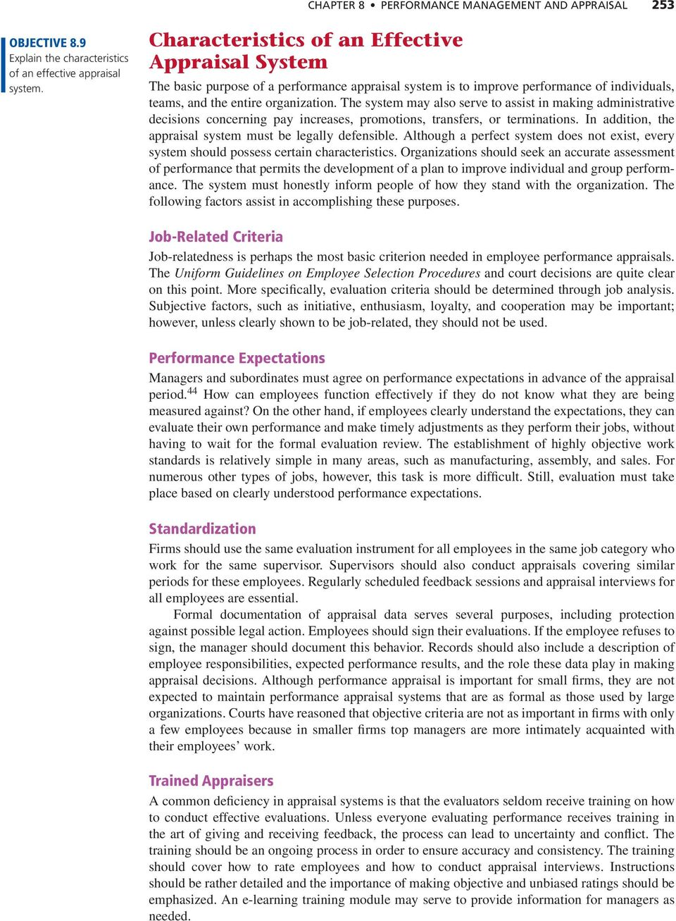 Performance Management and Appraisal - PDF