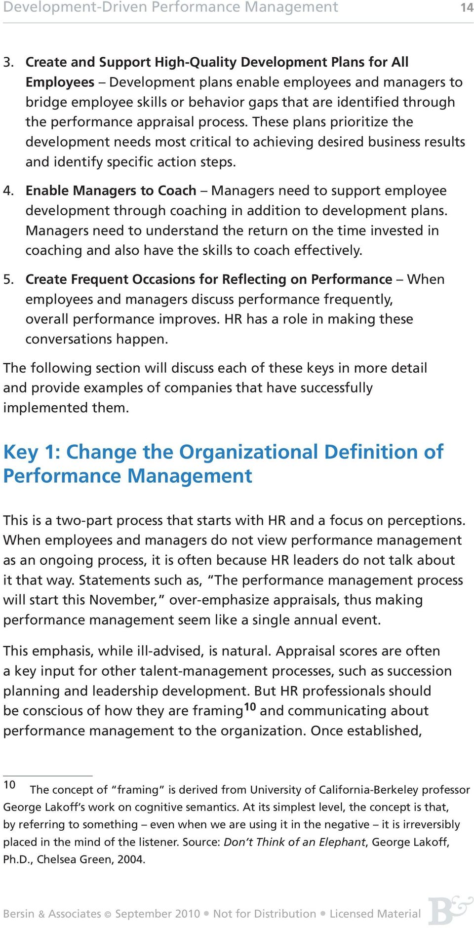 Development-Driven Performance Management - PDF