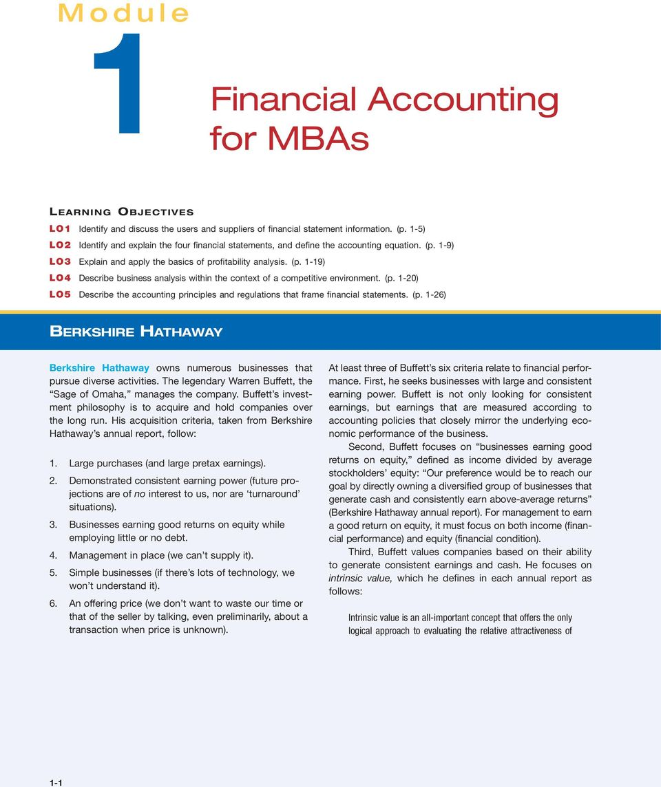 1-20) LO5 Describe the accounting principles and regulations that frame