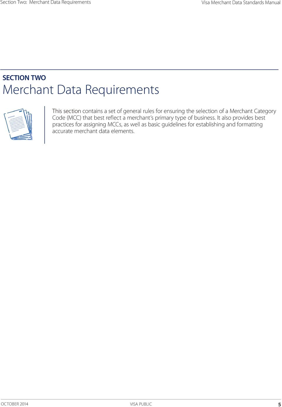 Visa merchant data standards manual pdf mcc that best reflect a merchant s primary type of business fandeluxe Gallery