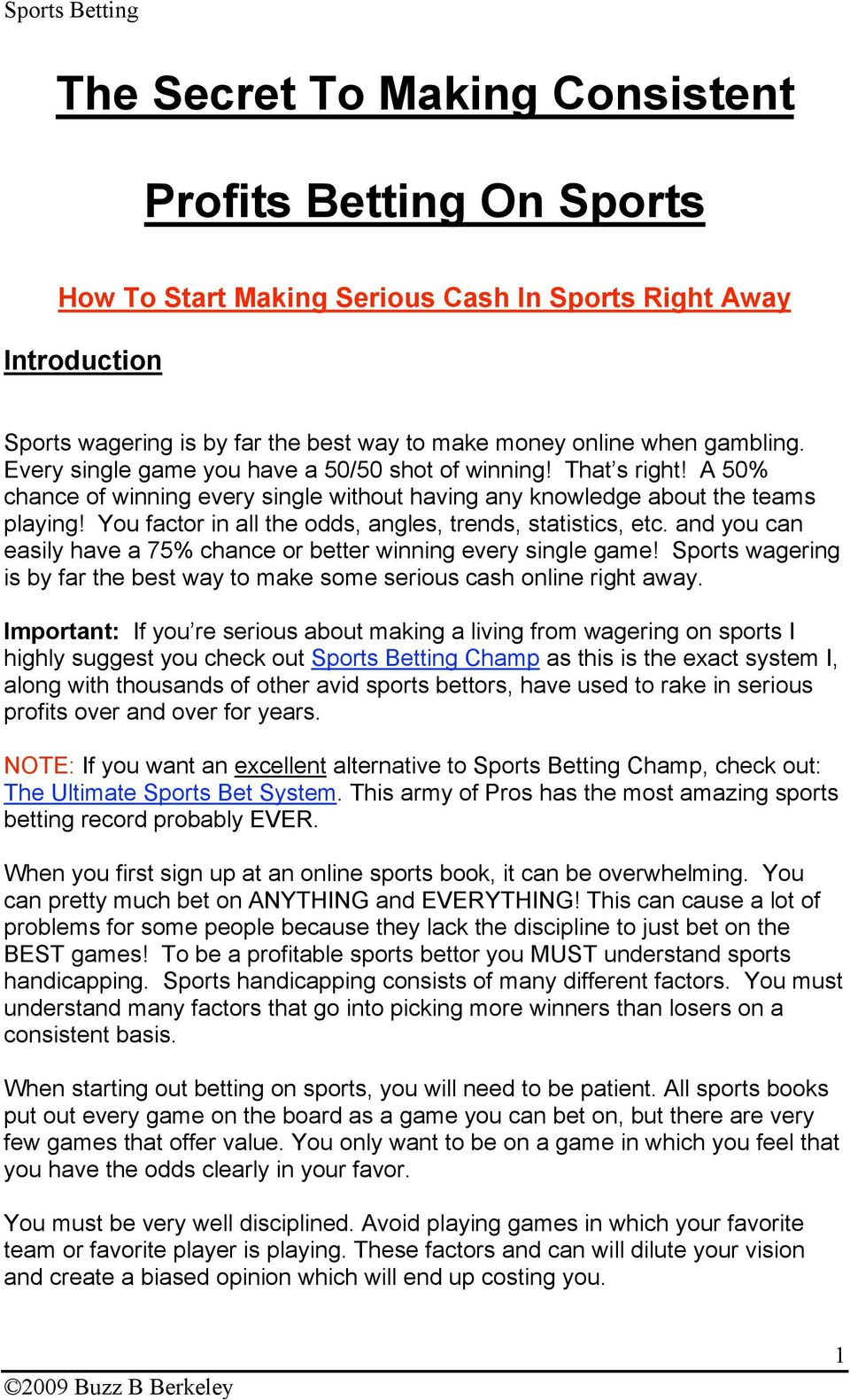 sports betting champ nhl system pdf