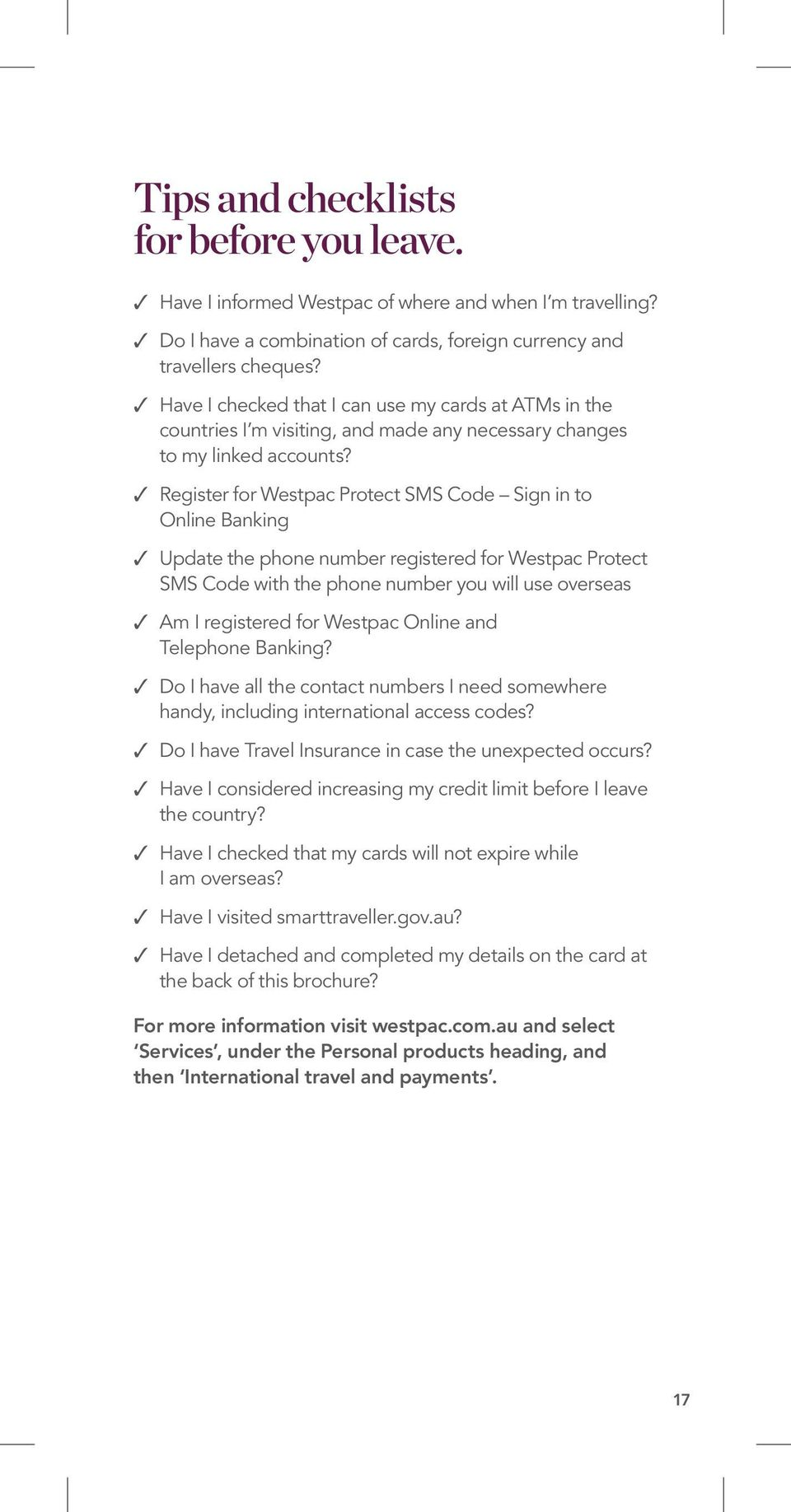 a banking guide for overseas travel - PDF