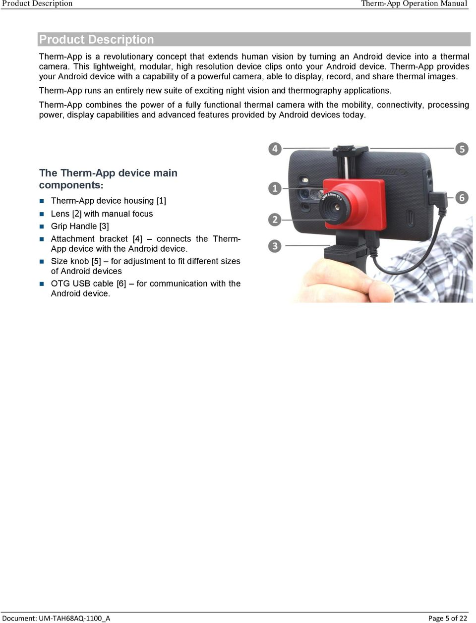 Therm-App TH for Thermography - High Resolution Mobile