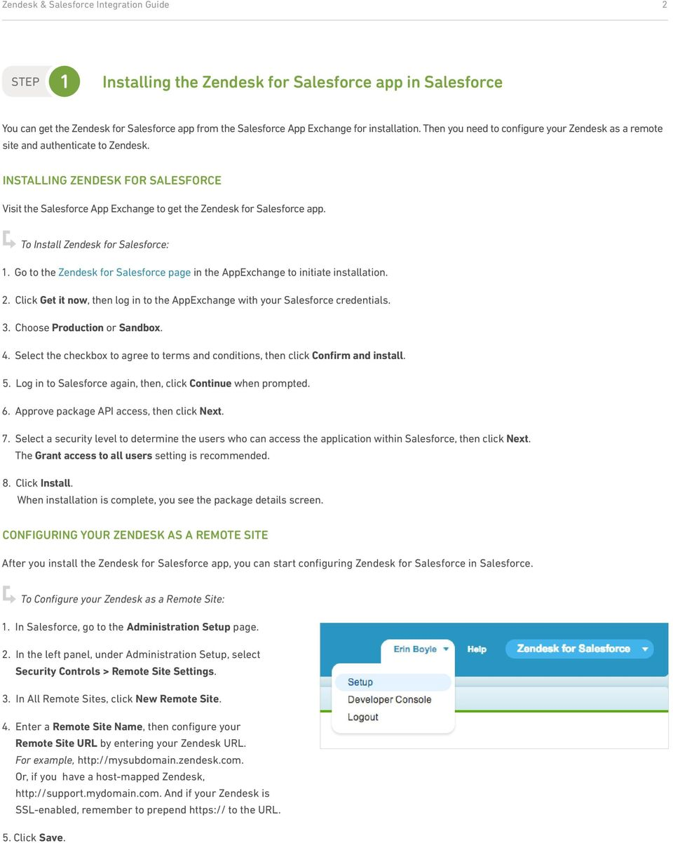 Zendesk + Salesforce  Step-by-Step Guide to Integrating Zendesk and