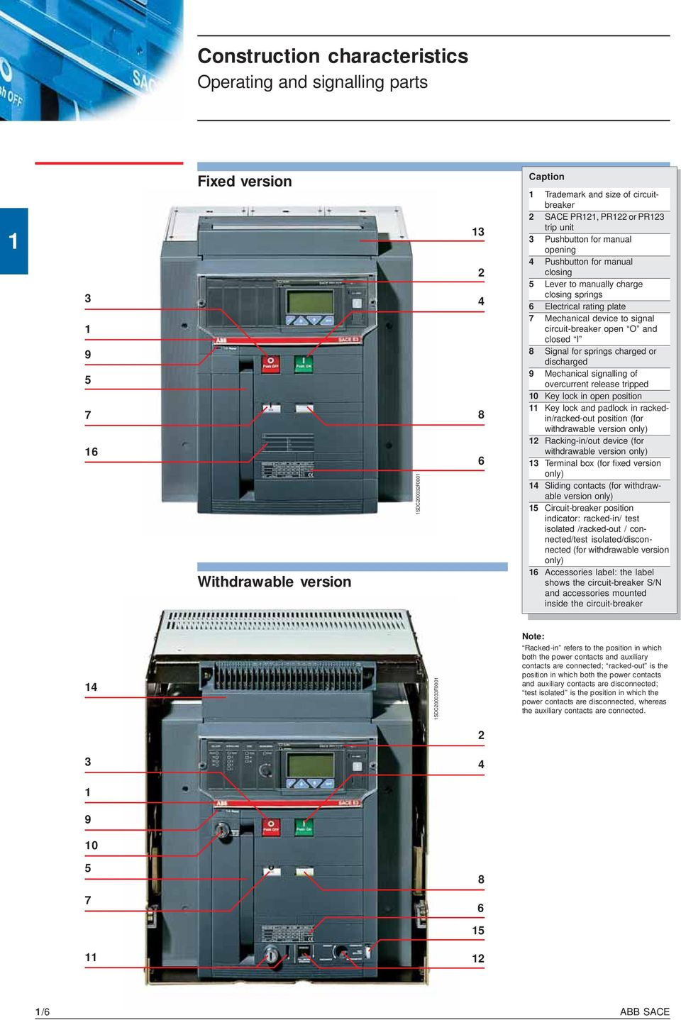 technical catalogue emax low voltage air circuit breakers pdf rh docplayer net manual disjuntor abb sace pr121/p abb acb sace pr121/p manual