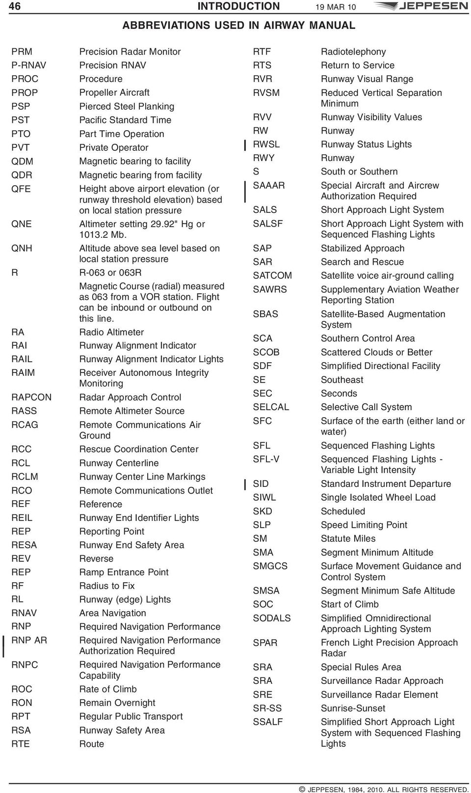 Jeppesen airway manual 2013 india array definitions abbreviations used in airway manual pdf rh docplayer net fandeluxe Images
