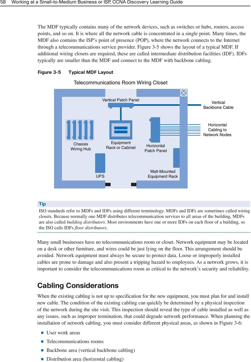 Planning A Network Upgrade Pdf Internet Wiring Closet Many Times The Mdf Also Contains Isp S Point Of Presence Pop