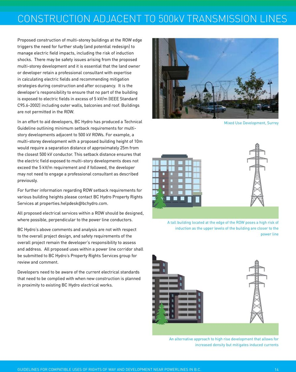 bc hydro rights of way guidelines - PDF