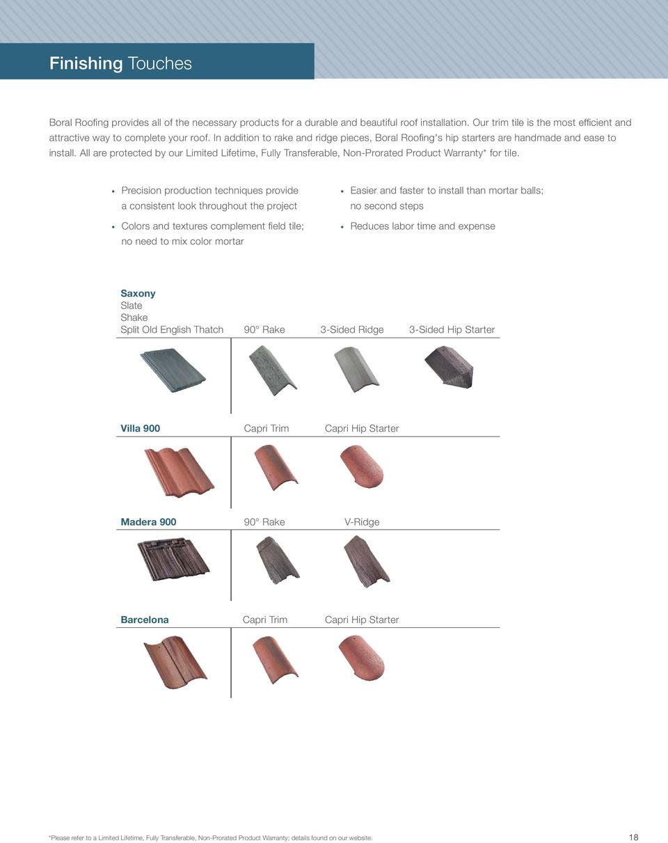 Boral roofing Build something great  Concrete Roof Tiles