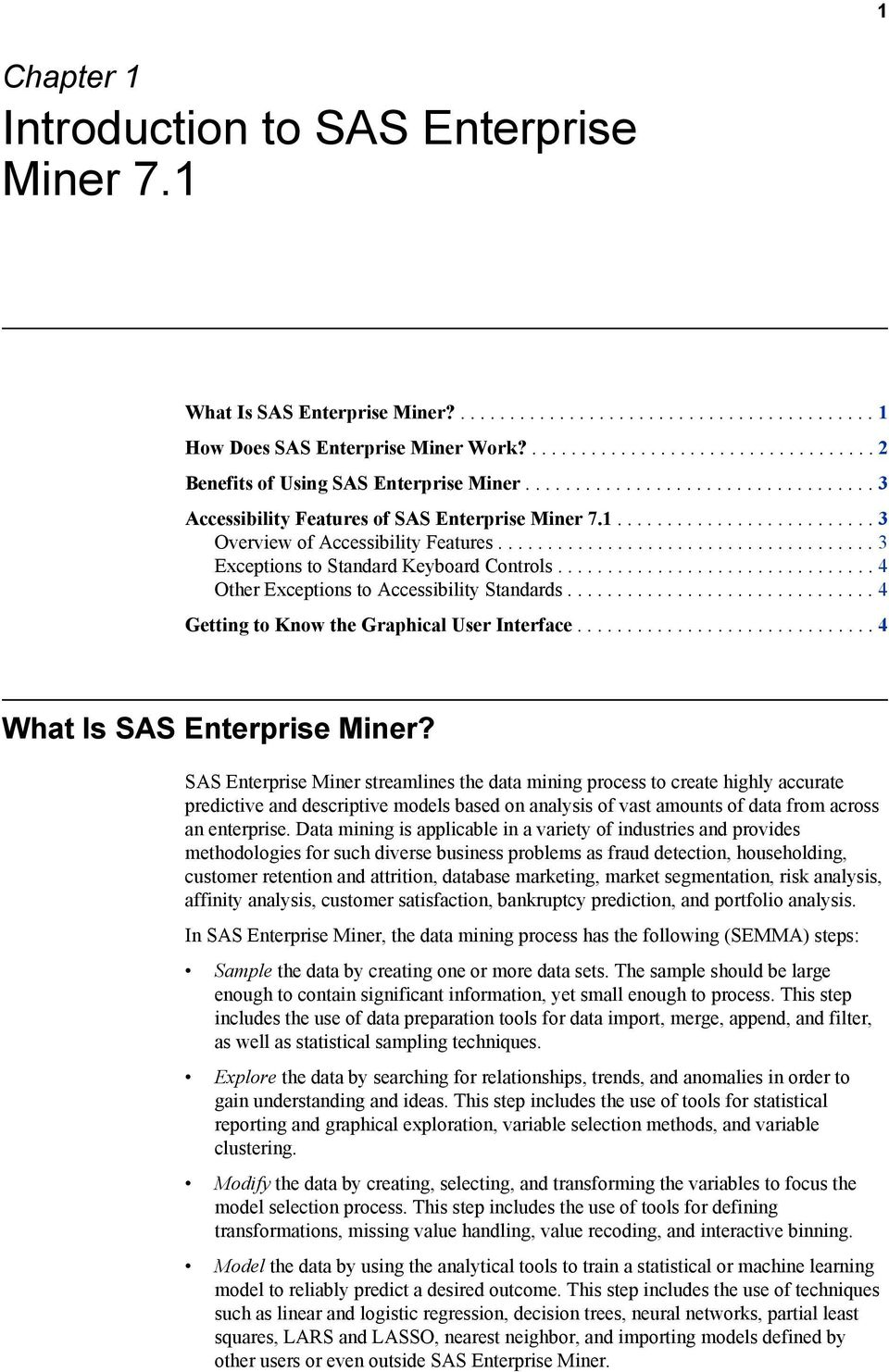 Getting Started with SAS Enterprise Miner PDF