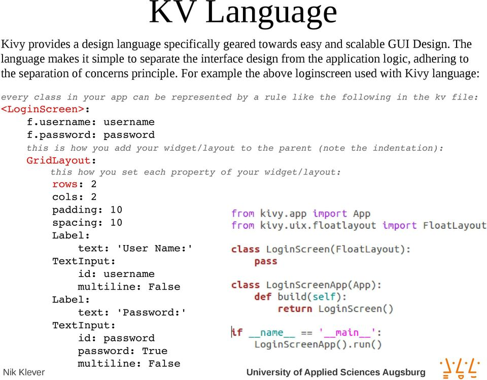 KIVY - A Framework for Natural User Interfaces - PDF