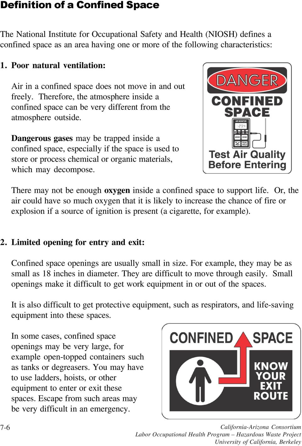 working safely in confined spaces - pdf