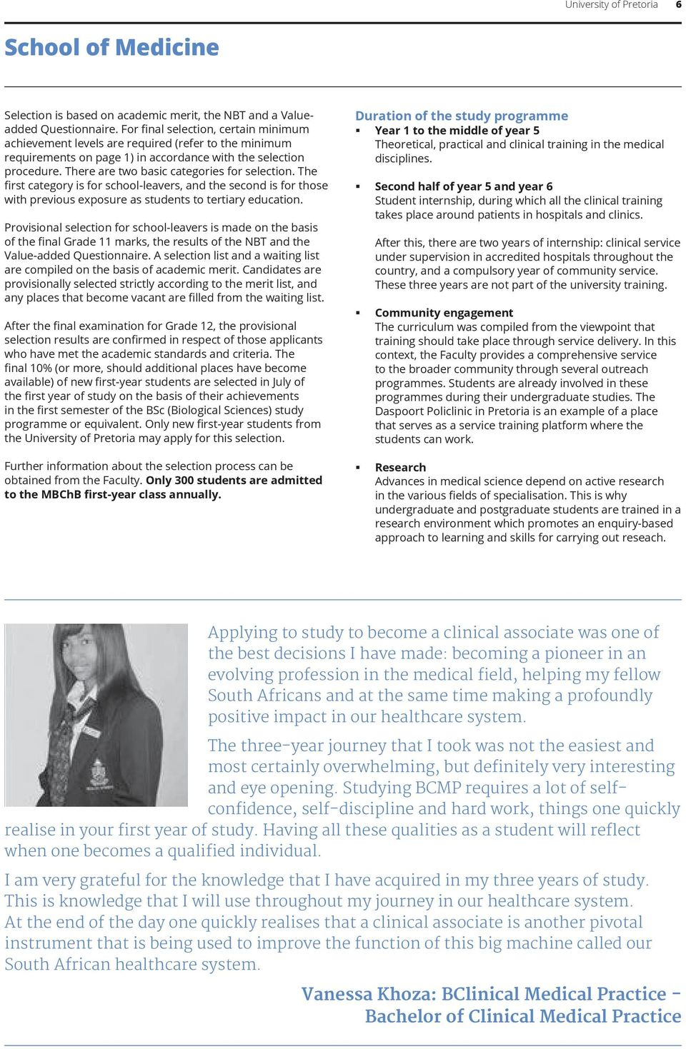 Health Sciences  Undergraduate faculty brochure 2015/16  - PDF