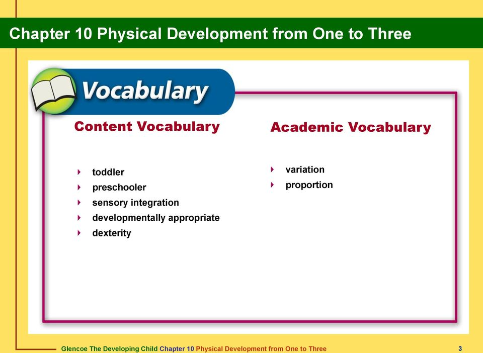 Chapter 10 Physical Development From One To Three PDF