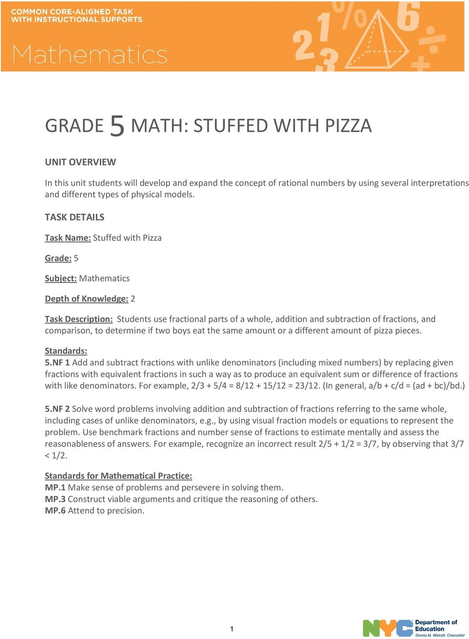 Mathematical Modeling Examples With Answers