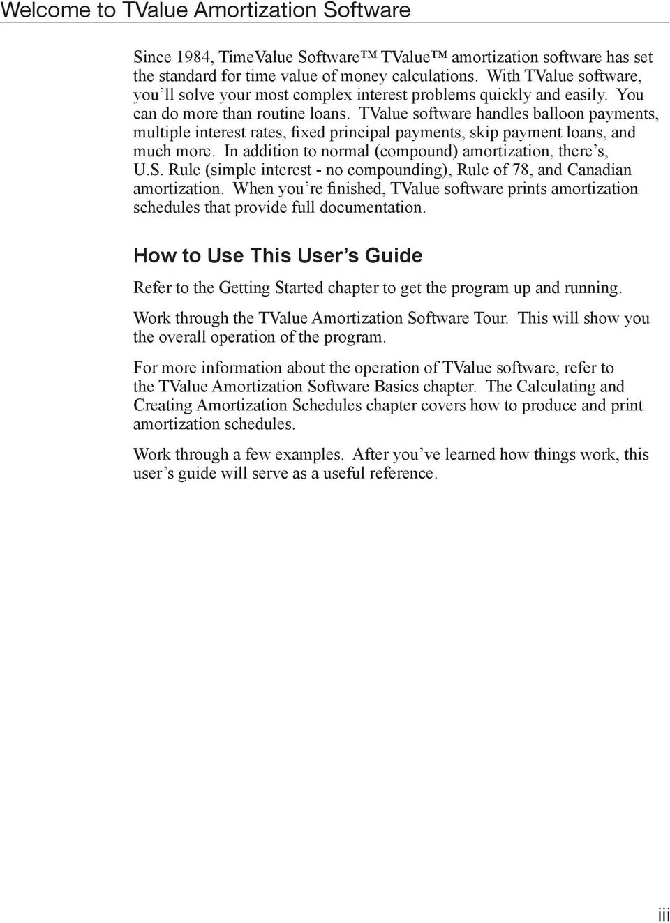 timevalue software amortization software version 5 user s guide pdf