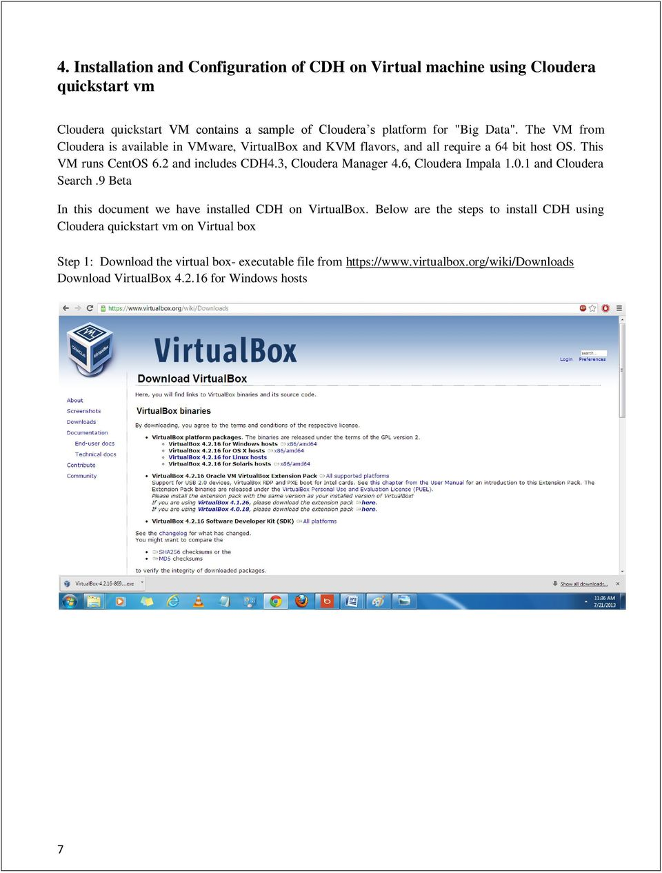 Cloudera Distributed Hadoop (CDH) Installation and