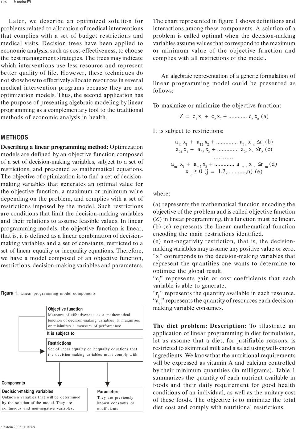 ... Array - linear programming applied to healthcare problems pdf rh  docplayer net