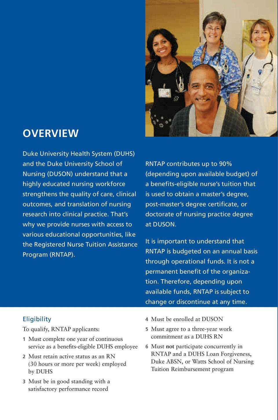 Registered Nurse Tuition Assistance Program (RNTAP) - PDF