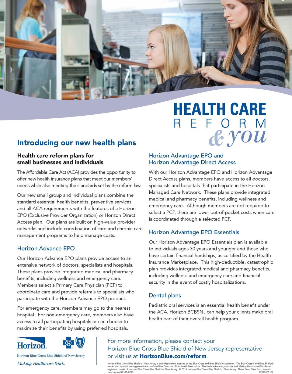 What Clients Need to Know About Health Care Reform - PDF