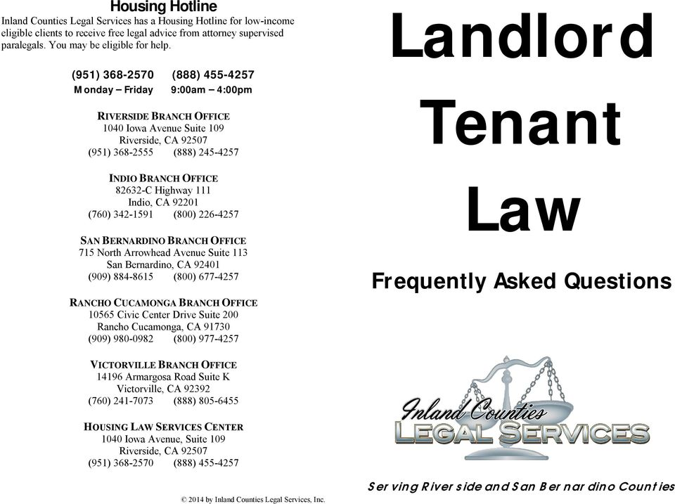 landlord and tenant rights