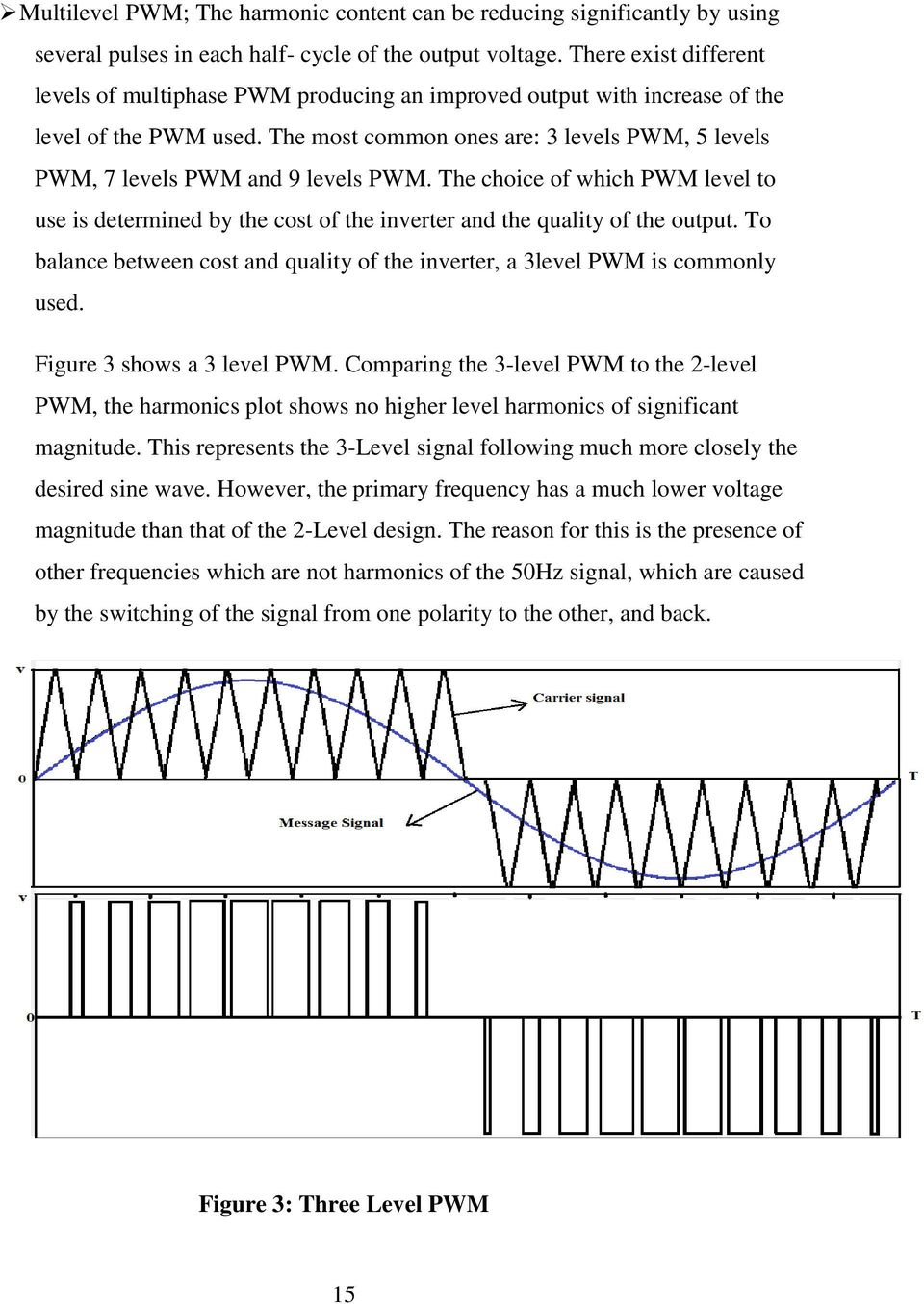 University Of Nairobi Pdf Modifying Square Wave Inverters To Sine Equivalents The Most Common Ones Are 3 Levels Pwm 5 7