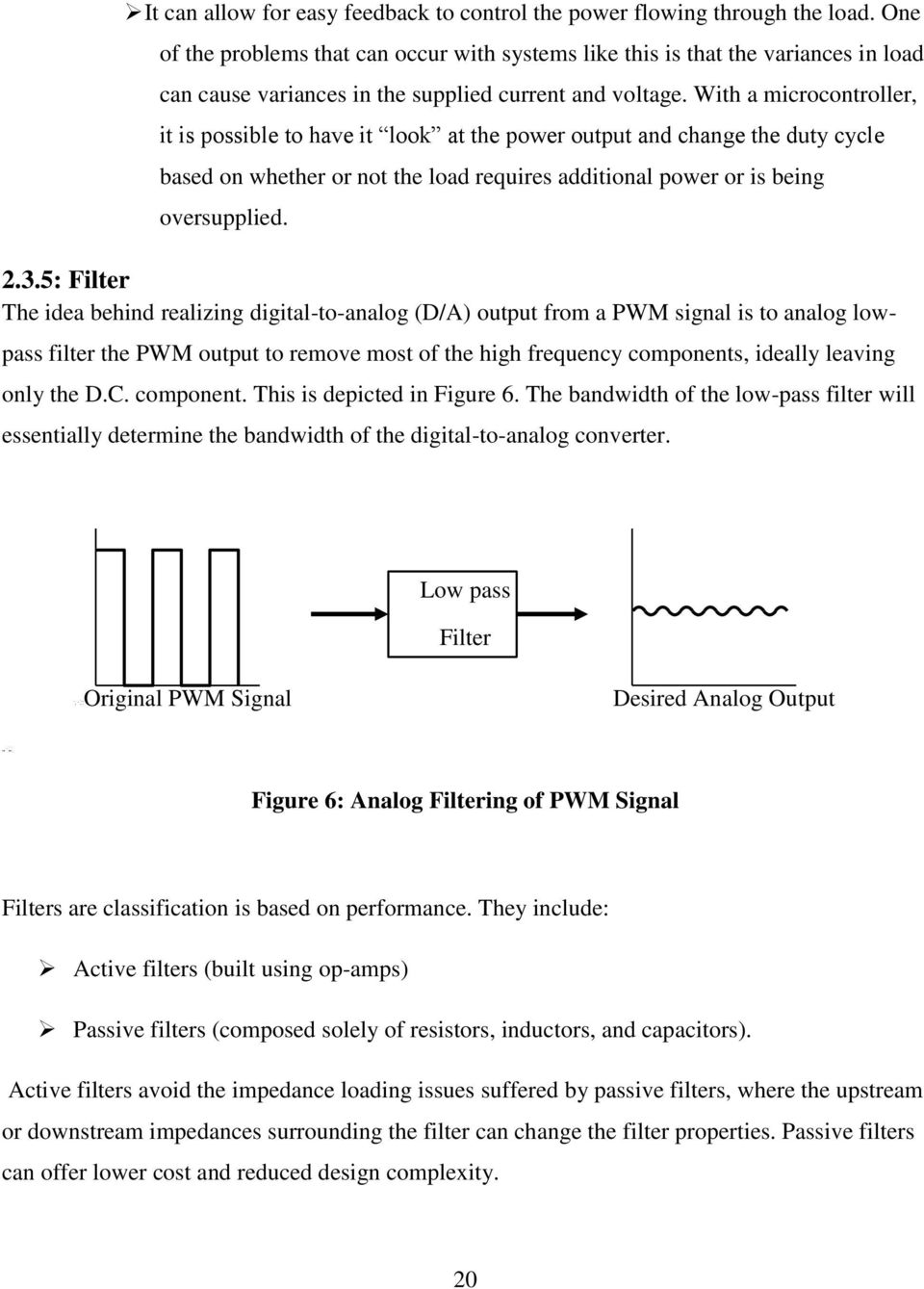 University Of Nairobi Pdf Active And Passive Filters With A Microcontroller It Is Possible To Have Look At The Power Output 21