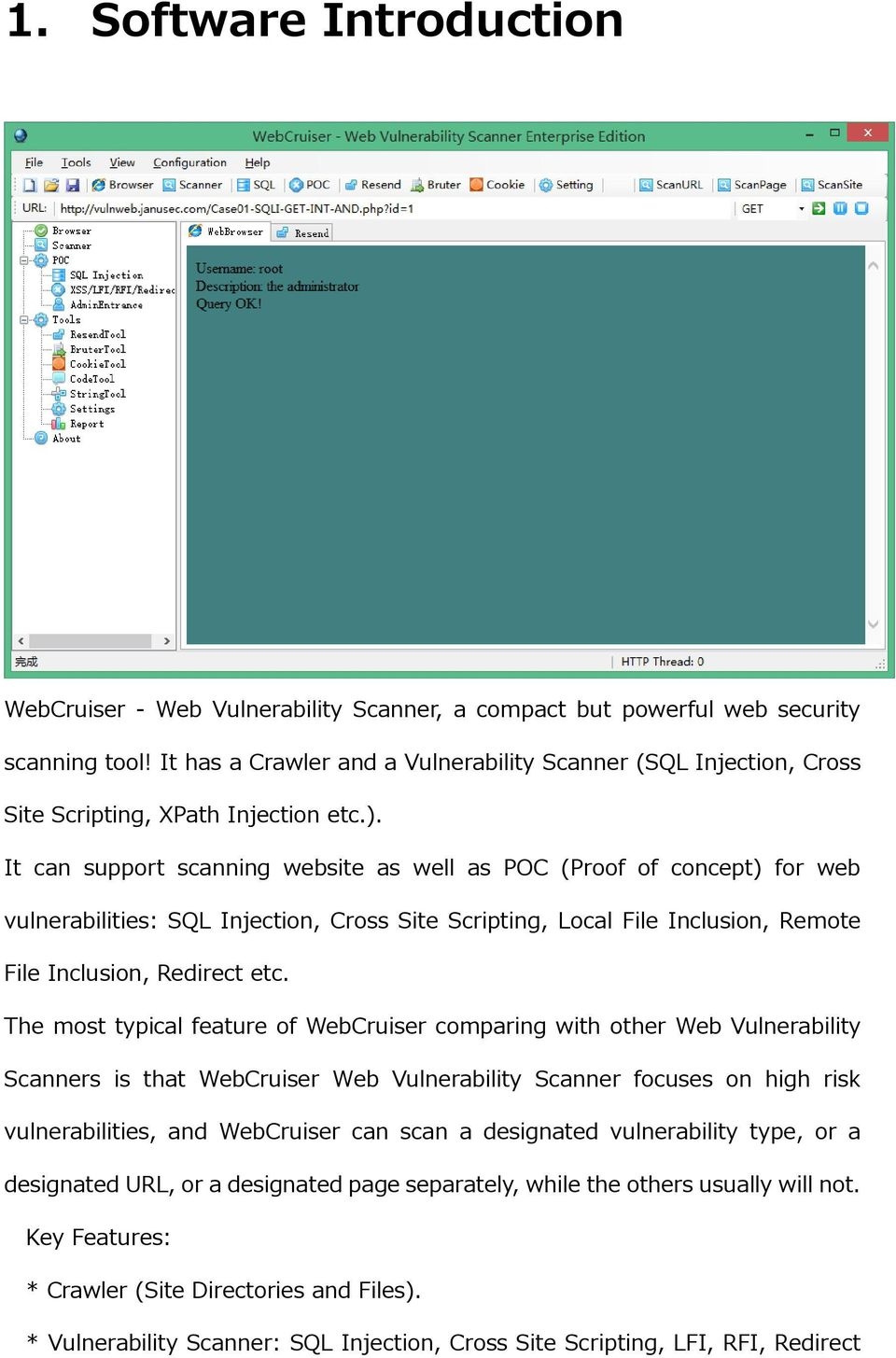 WebCruiser Web Vulnerability Scanner User Guide - PDF