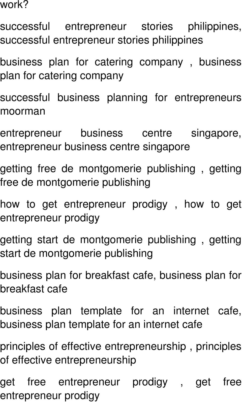 A successful entrepreneur in india business plan template for a prodigy how to get entrepreneur prodigy getting start de getting start de business plan wajeb Choice Image