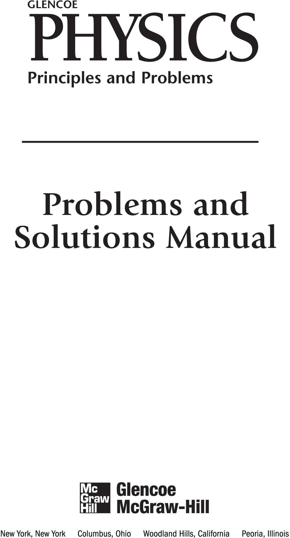 glencoe physics principles and problems problems and solutions rh docplayer net TI-84 Calculator TI-84 Calculator