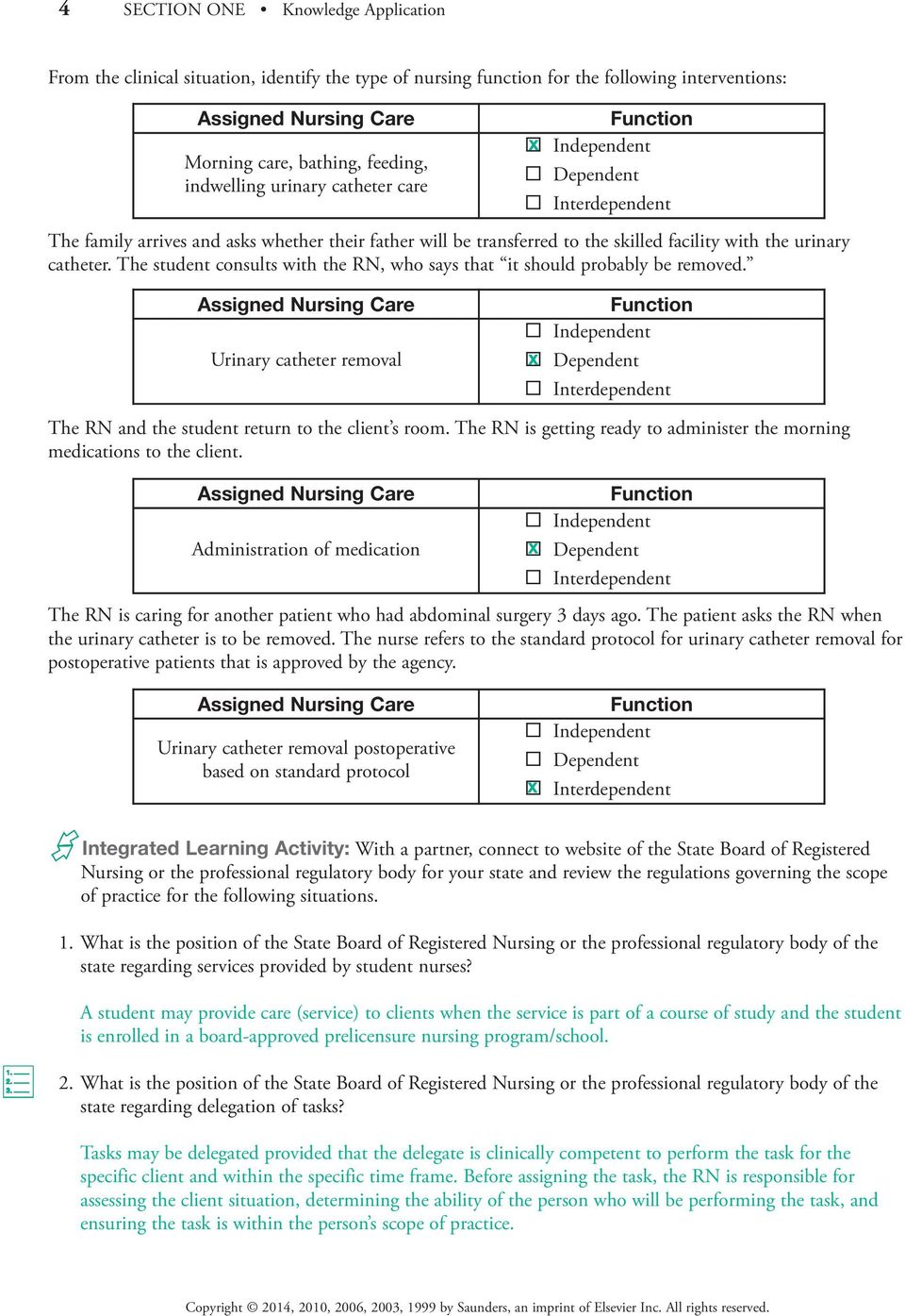 SECTION ONE ONE KNOWLEDGE APPLICATION - PDF