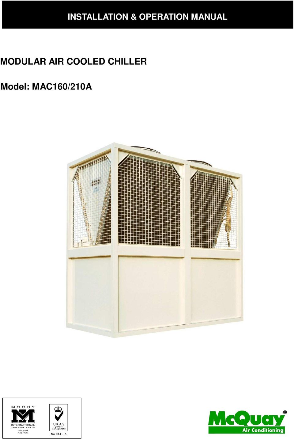 Installation operation manual modular air cooled chiller pdf modular air cooled asfbconference2016 Image collections