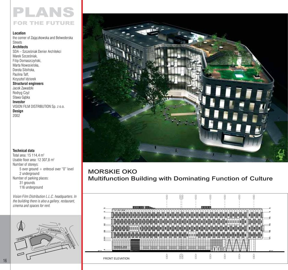 Architectural Drawings And Models Of The New Warsaw