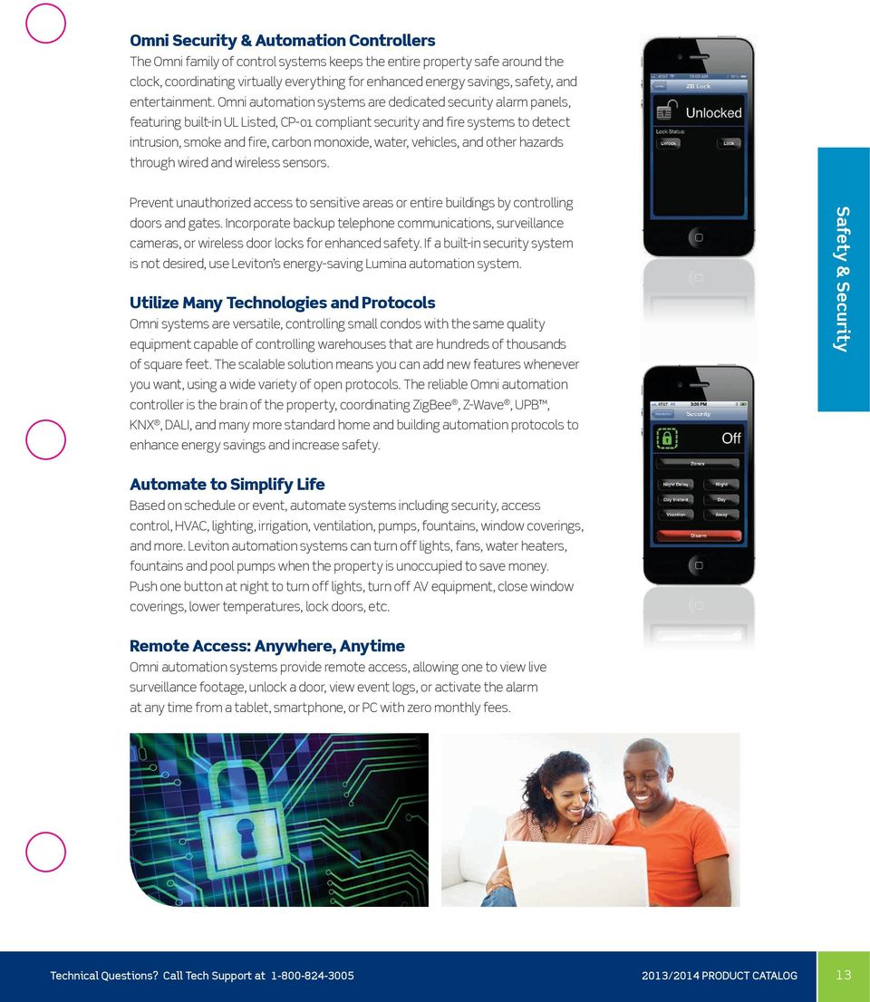 Leviton Security & Automation Solutions - PDF
