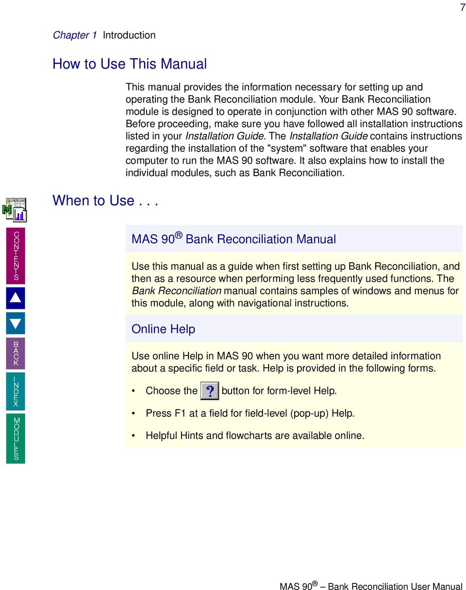 welcome to the mas 90 bank reconciliation online manual how to use