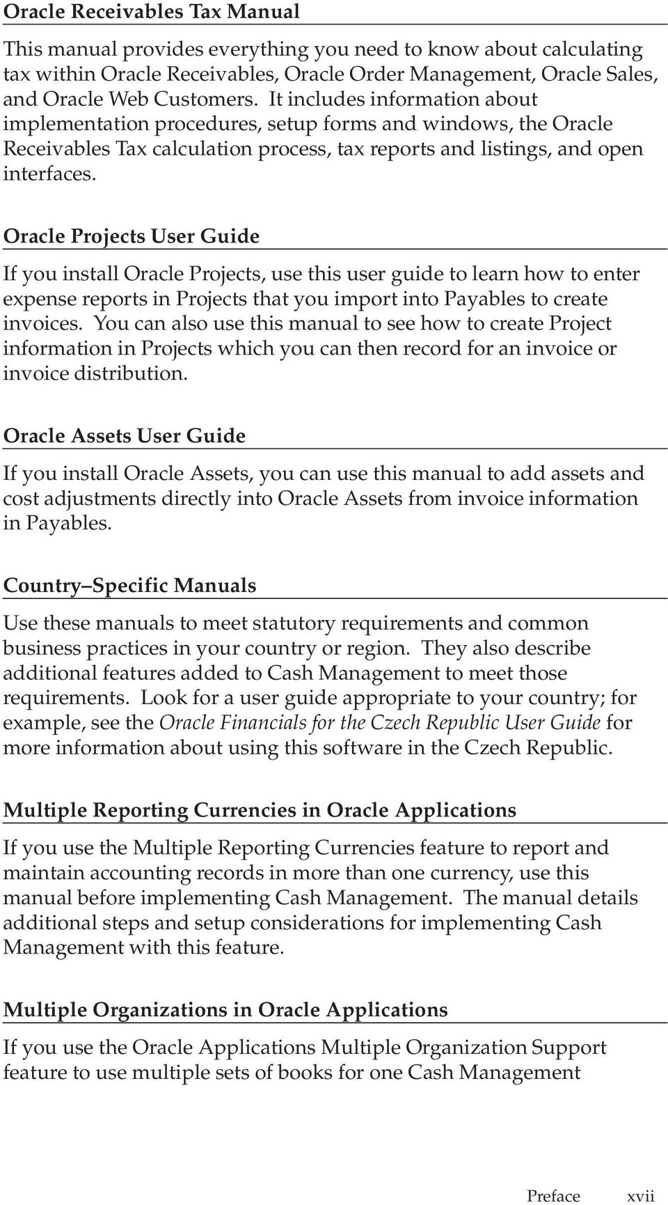 Oracle Cash Management User Guide - PDF