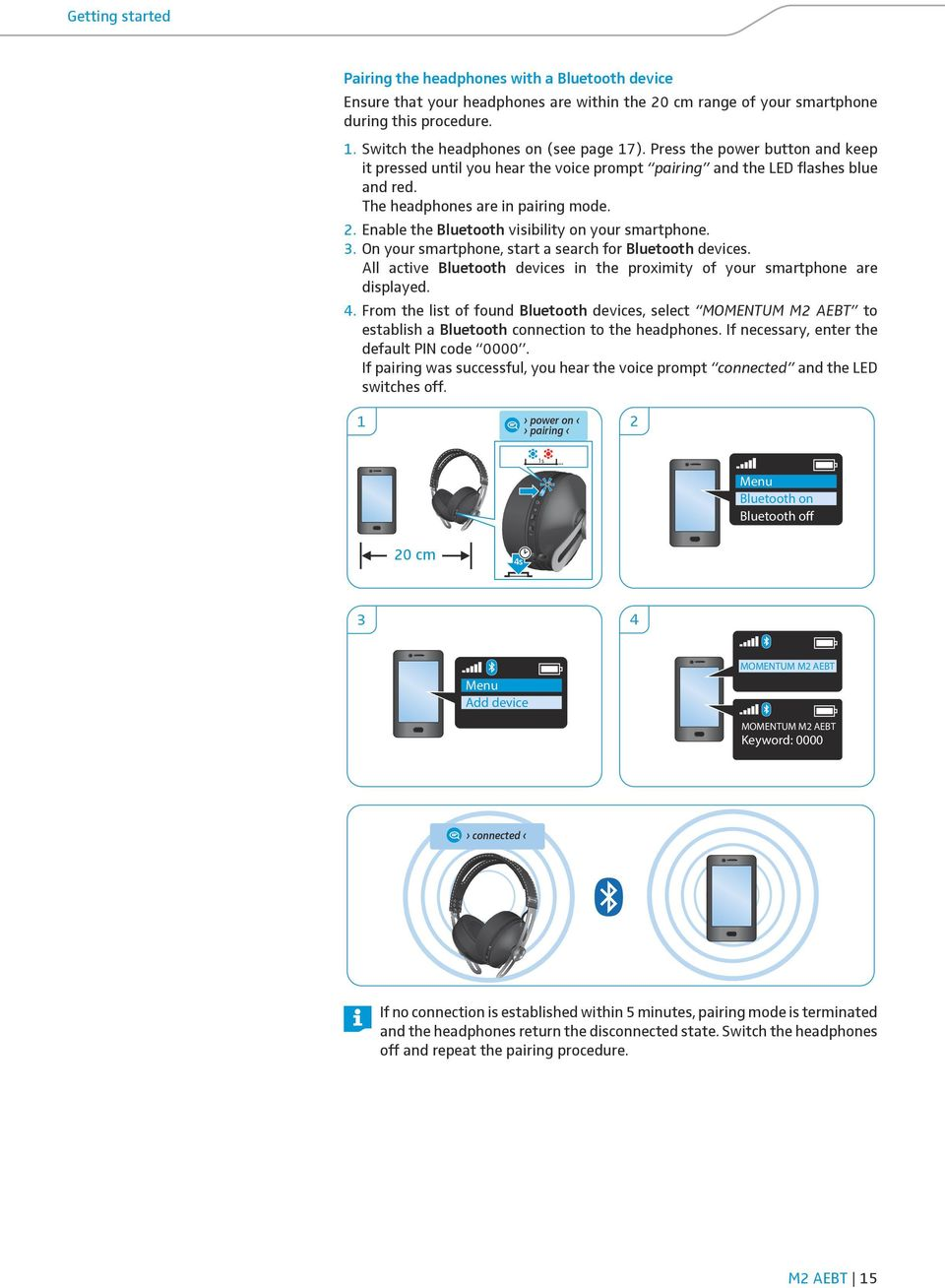 MOMENTUM Wireless M2 AEBT  Instruction Manual - PDF