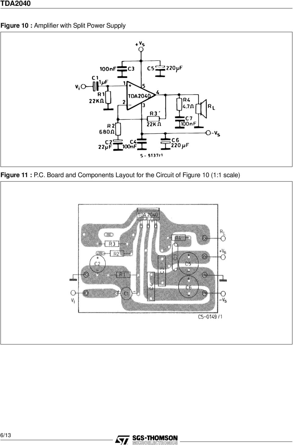 Tda W Hi Fi Audio Power Amplifier Pdf Circuit Dynamic With Ic Dmos Tda7294 Bridge Board And Components Layout For