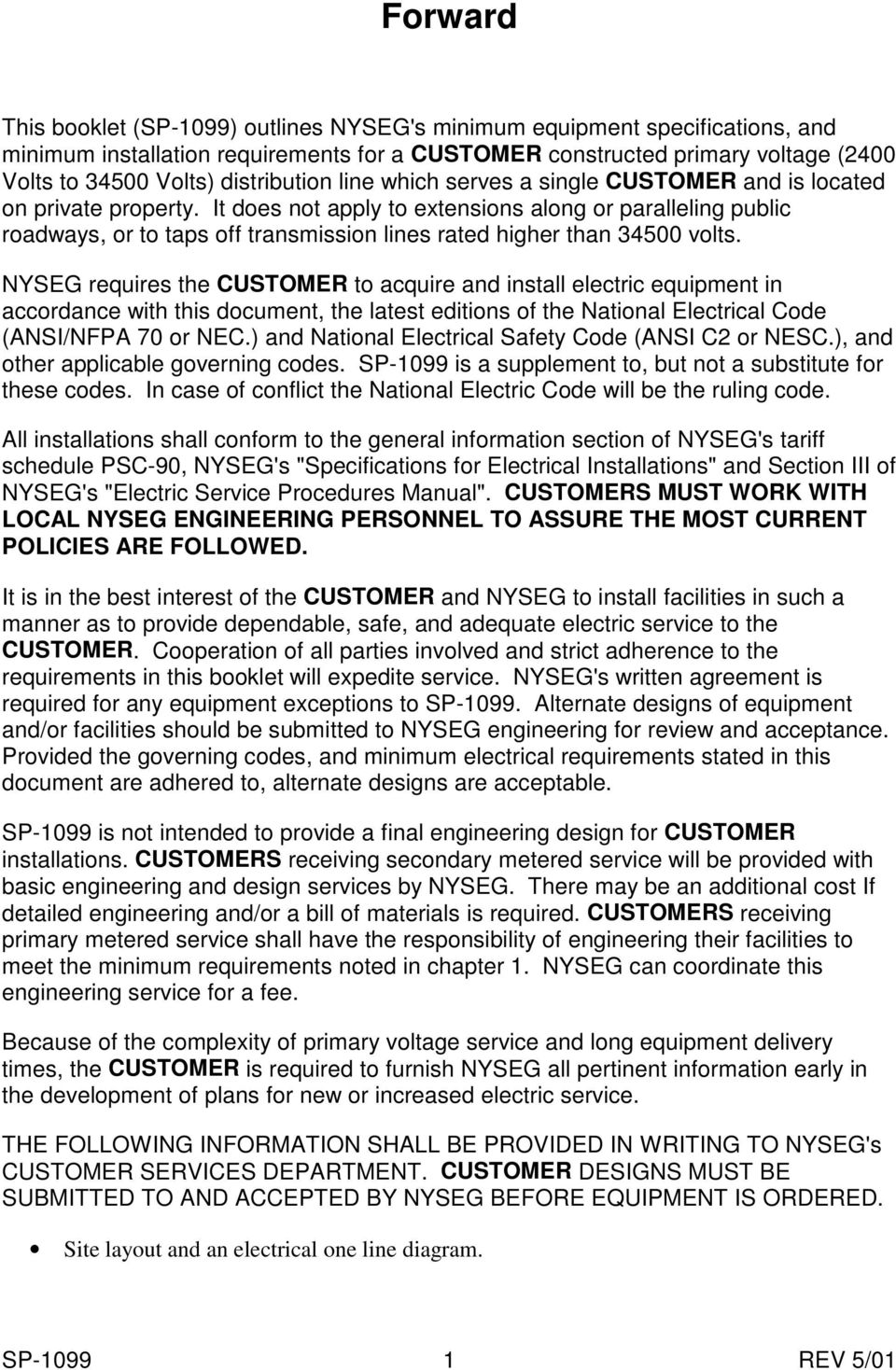 24 Kv To 345 Sp Pdf Section Three Electrical Installation It Does Not Apply Extensions Along Or Paralleling Public Roadways Taps Off