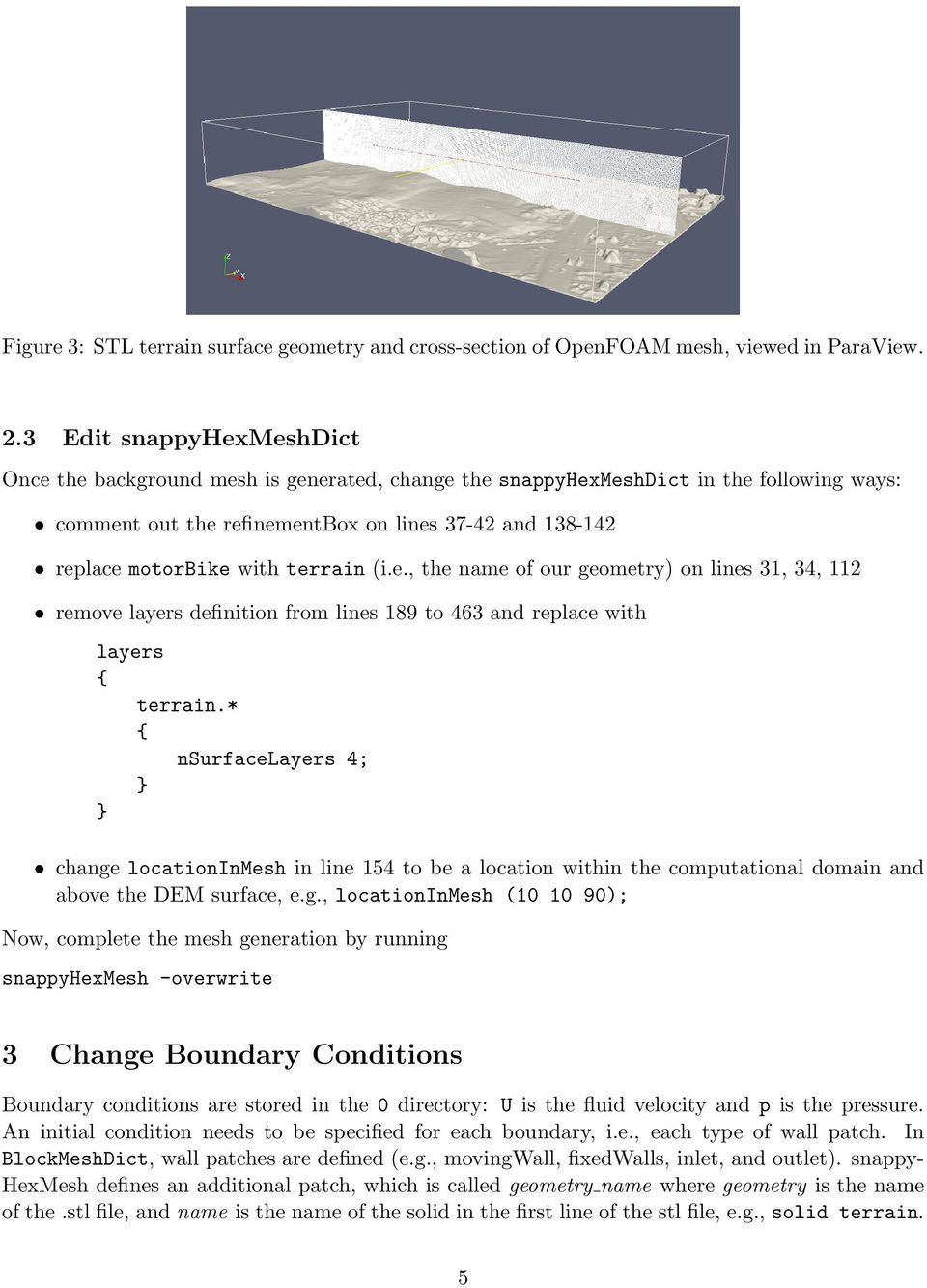 Simulating Wind Over Terrain: How to Build an OpenFOAM Case from